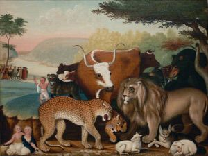 Photo: Hicks The Peaceable Kingdom DMA 1973--5.jpg Public Domain, Wikimedia Commons