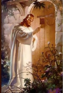 Christ At Hearts Door, Warner Sallman